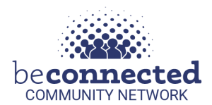 Be Connected Community Networks badge